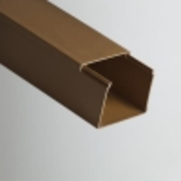 Кабель-канал РУВИНИЛ 80х60х2000мм (коричневый)