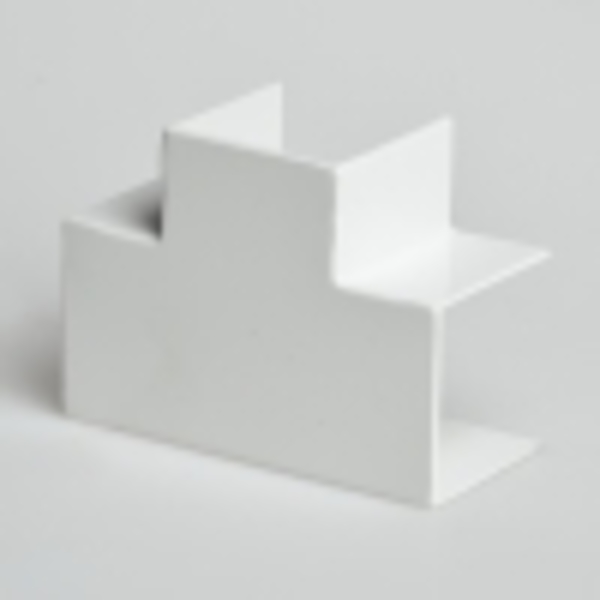 Тройник накладной 90 град. для РКК-32х16 (белый)