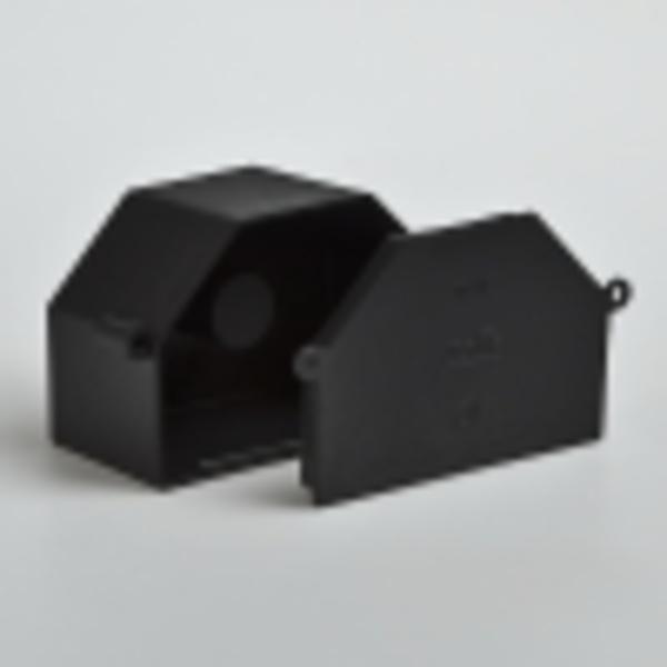 Тусо.Коробка расп. 119х76,4мм,Н=60мм для заливки в бетон(с крышкой)