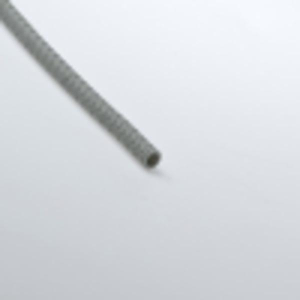 Труба гофрированная 16мм ПВХ (серая) с зондом тяжелая
