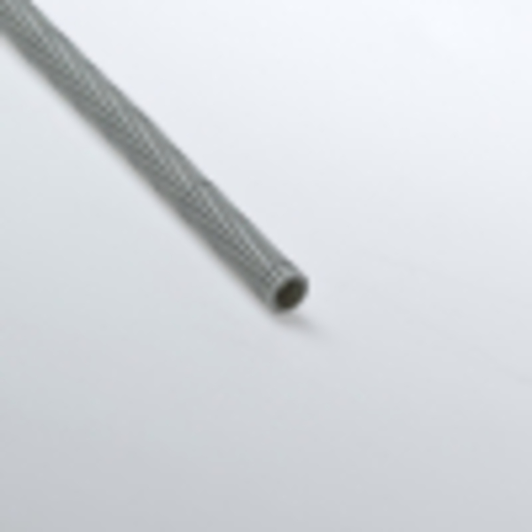 Труба гофрированная 20мм ПВХ (серая) с зондом тяжелая
