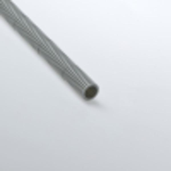 Труба гофрированная 25мм ПВХ (серая) без зонда тяжелая