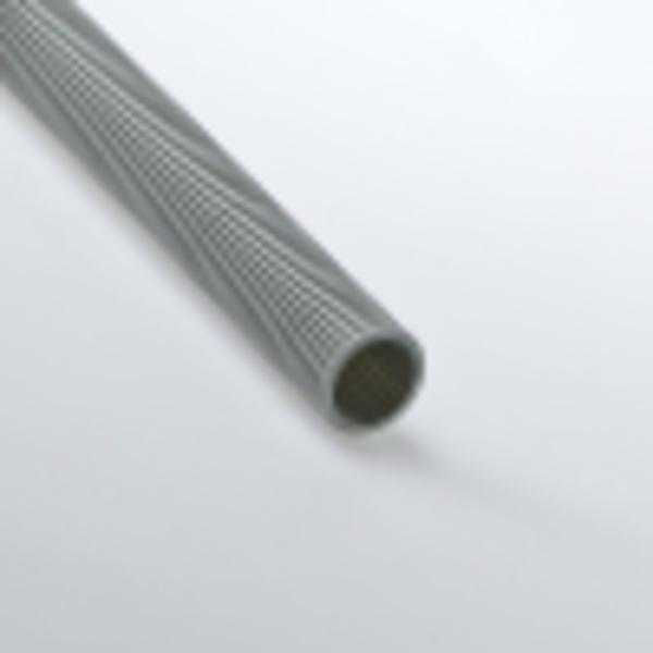 Труба гофрированная 40мм ПВХ (серая) без зонда тяжелая
