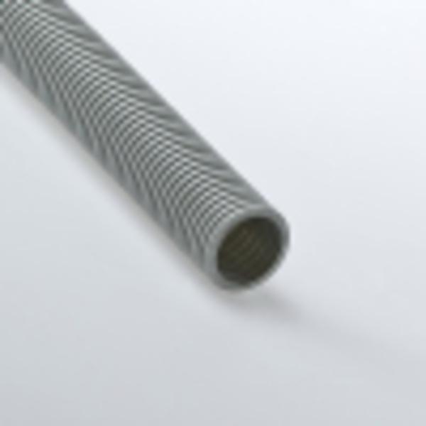 Труба гофрированная 50мм ПВХ (серая) без зонда легкая