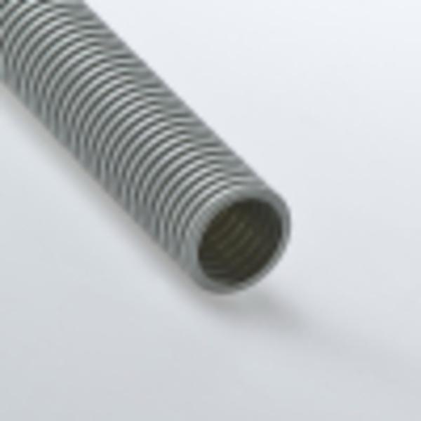 Труба гофрированная 63мм ПВХ (серая) без зонда легкая