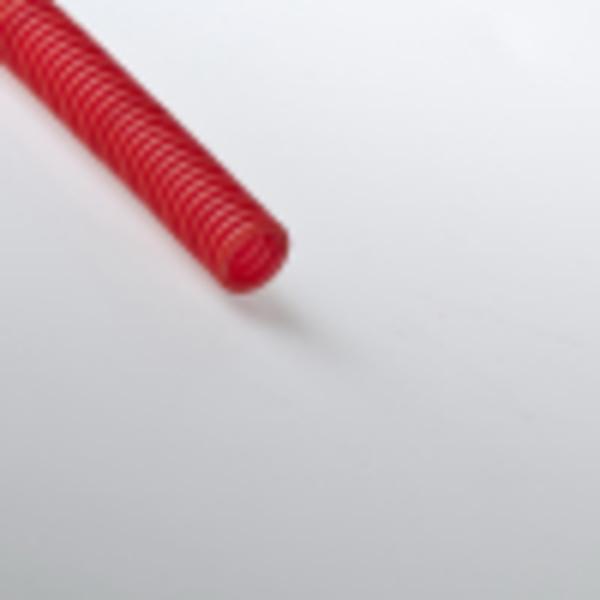 Труба гофрированная 20мм ПНД (красная) для МПТ