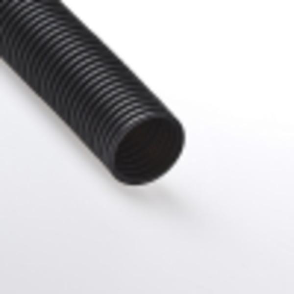 Труба гофрированная 63мм ПНД (черная) без зонда легкая