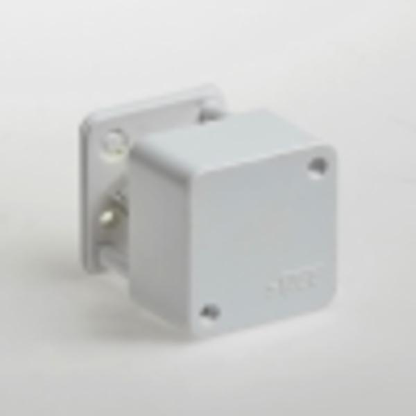 Тусо.Коробка расп. для о/п, 55х55х32мм (2 клемника) белая