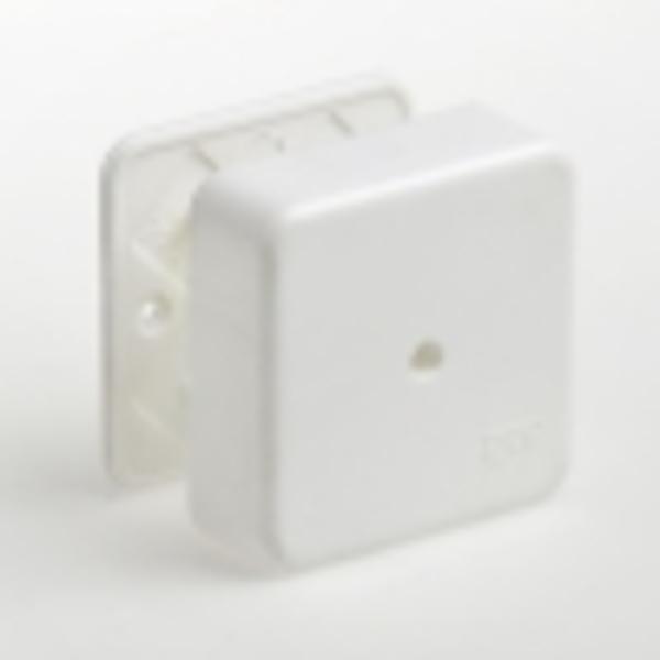 Тусо.Коробка универс. для кабель-каналов, 80х80х25мм