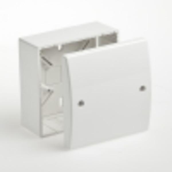 Тусо.Коробка универсальная. для кабель-каналов 100х100х55мм