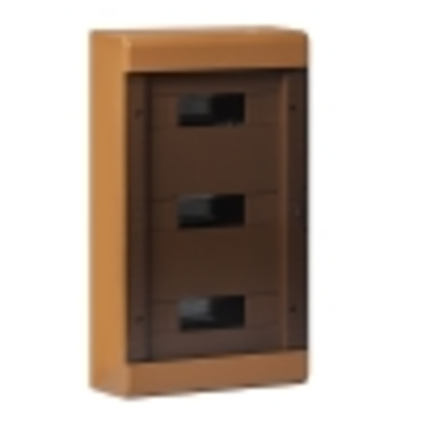 Тусо.Щиток о/п на 36 мод. с двер. 520х303х117,5мм  (коричневый)